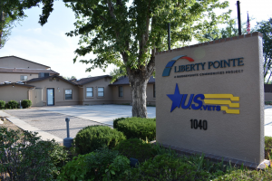 Liberty Pointe location sign