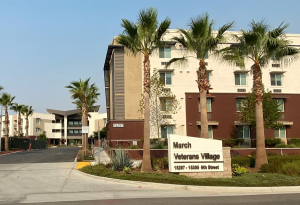 March Veterans Village complex