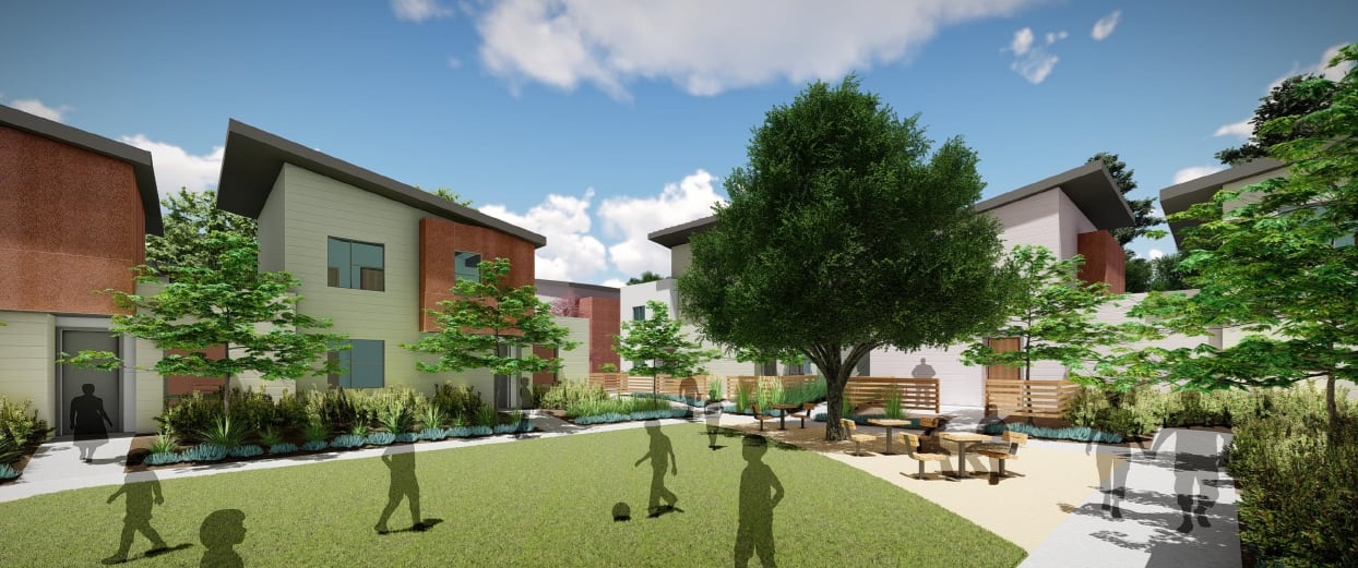 Ventura Veterans Village housing development rendering