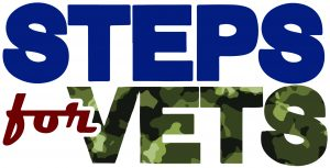 Steps for Vets logo.