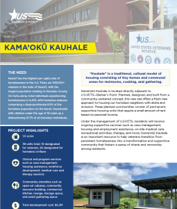 First page of the KAMA'OKŪ collateral piece.