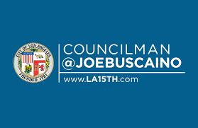 Councilman Buscaino's logo.